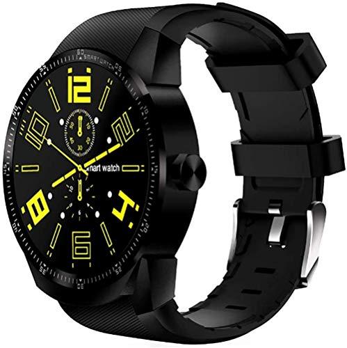 hwbq Reloj inteligente deportivo IP68 resistente al agua, soporta correr, ciclismo, natación, fitness, monitor de frecuencia cardíaca