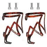 Yideng 2PCS portabidon Bicicleta,ultraligero de aleación de aluminio botellero...