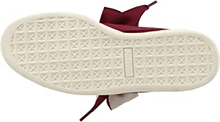 Womens Suede Heart Quilt Casual Sneakers,