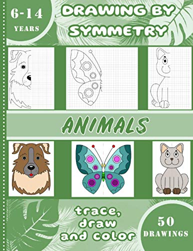 Drawing by symmetry – Animals –