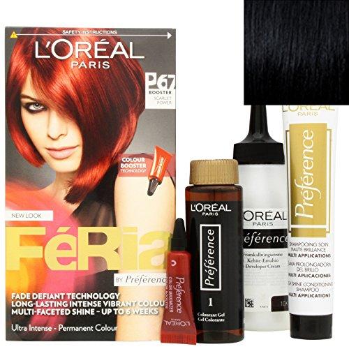 L'Oréal Féria 20 Blackest Black