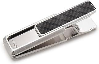 M-Clip Money Clip Stainless Steel Black Carbon Fiber Money Clip