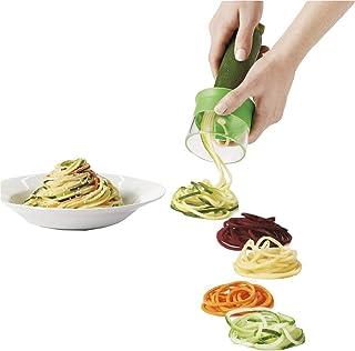 Trancheuse Mandoline Coupe-légumes Veggie Dicer Hand Held Multifonctions Cuisine Légumes Spiralizer Spiral Slicer Cutter E...