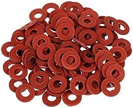 100 PCS Red de la placa madre de tornillo Insularing arandelas de fibra