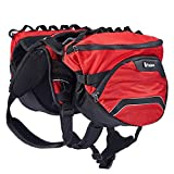 PETTOM Waterproof Dog Saddle Bag