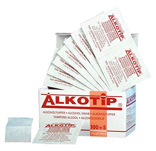 Alkotip Alcoholdoekje Alkotip, 105 Stuk