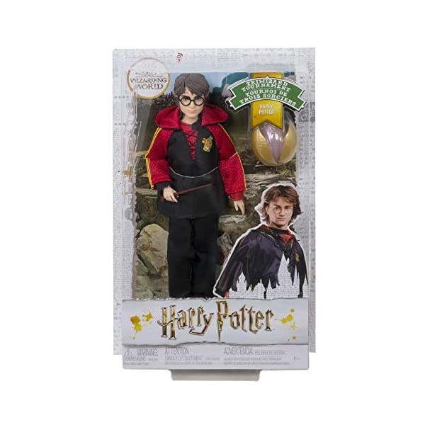 Harry Potter Muñeco Harry de la Colección de Cáliz de Fuego (Mattel Gkt97) 6
