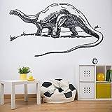 Jurassic Park Decal Dinosaur Décor Alamosaurus Jurassic Dinosaur Wall Decal Sticker Dinosaur Room Decor for Boys