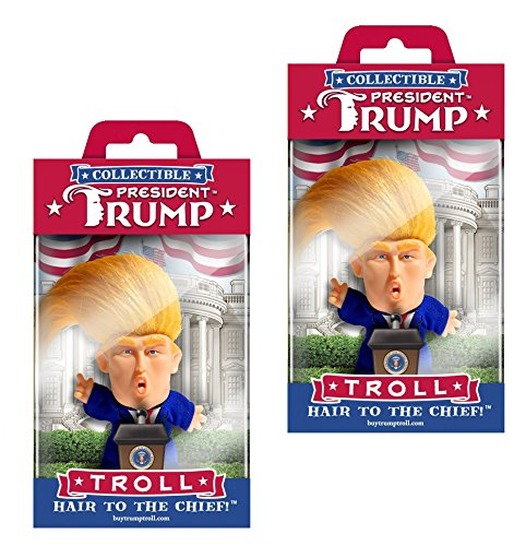 The Masters Design Collectible President Donald Trump Troll Doll - Hair to the Chief (2)