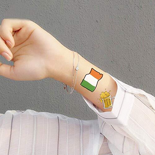 Womdee Pegatinas de Tatuajes de trébol para Mujer, Tatuajes del ...