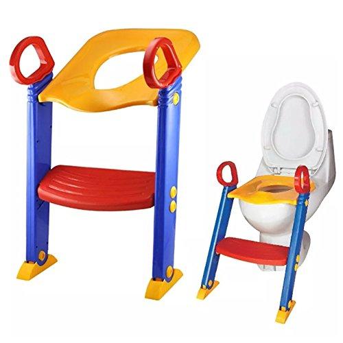 Loz Töpfentrainingssitz mit Stufe, Blau, für Kinder, Kleinkinder und Babys