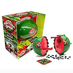 A hilarious twist on water roulette Fill with water or the 30 included plastic seeds Spin the spinner and press the melon on your head the number of times shown If you get splashed you're out A suspenseful game in which you never know when the waterm...