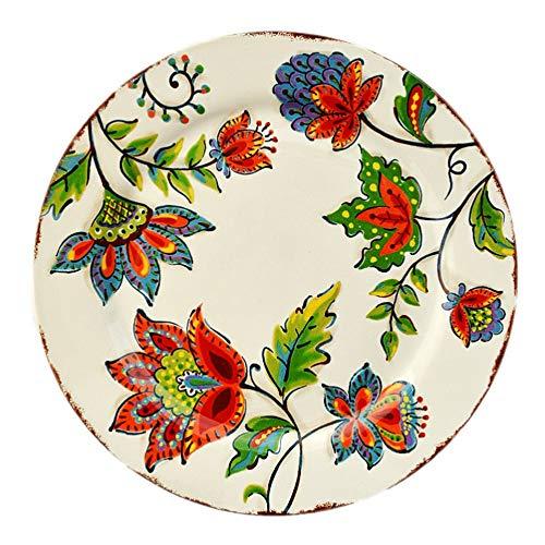 YUWANW campo mexicano vajilla de cerámica/Van Ti Ya puede placa decorativa/mercado occidental