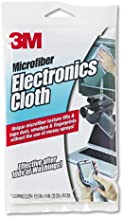 3M : Microfiber Electronics Cleaning Cloth, 12 x 14, White -:- Sold as 1 EA