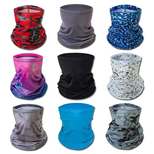 Multifunctionele hoofdband-bandana, elastische buff-bivakmuts Bivakmuts Gezicht, hoofdomslag voor volwassenen en kinderen, magische hoofddoek, sjaal om te skiën, zoals de afbeelding laat zien