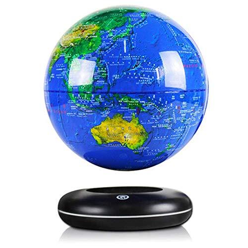 qingtianlove Globe of Levitation Leuchtende LED Schwimmkugeln 6inch Salon  Schreibtischdekoration  Büro Kreativität Dekoration