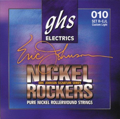 ghs REJL - Juego de cuerdas para guitarra eléctrica, 010-050