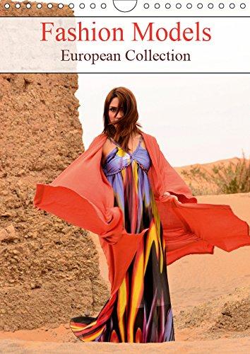 Fashion Models European Collection 2019: European Photo Book Models (Calvendo People)