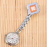 Reloj médico para enfermería,Mesa Colgante de Reloj de Enfermera médica, Mesa de Examen de Reloj de Bolsillo Luminoso Impermeable-Rosa C,Relojes Bolsillo Médico Enfermera