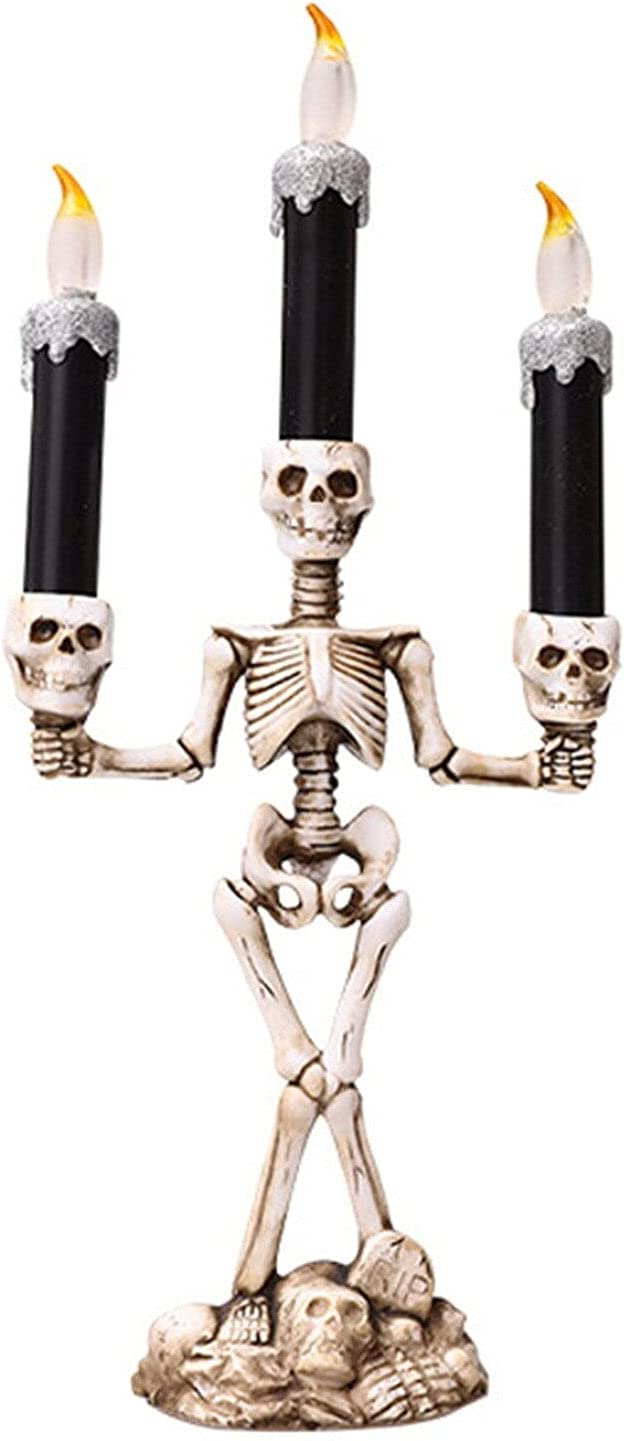 sets Party Supplies 1pcs Halloween Candle Light with Led 1 year warranty for El Paso Mall Tea