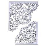 FORUU Die Cut, Metal Cutting Dies Stencils Scrapbooking Embossing Mould Templates Handicrafts DIY Card Making Paper Cards Best Gift New Snowflake Album