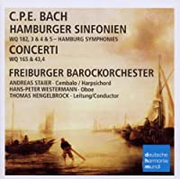 C.P.E. Bach: Hamburger Sinfonien & Conce by Freiburger Barockorchester (2011-08-26)