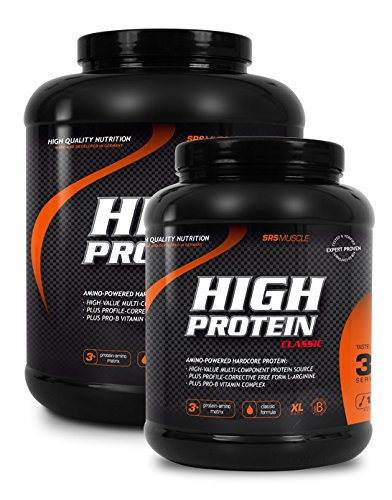 High Protein, SRS 1000 g Erdbeere by SRS Muscle