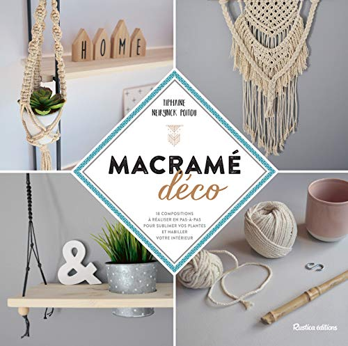Macramé déco (Esprit nature) (French Edition)