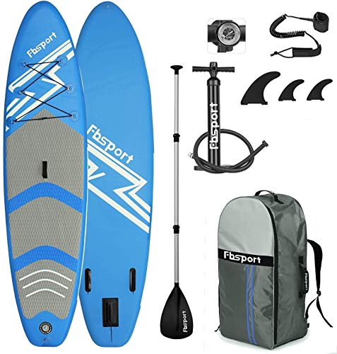 FBSPORT Planche de Sup Gonflable, Stand up Paddle Gonflable PVC...
