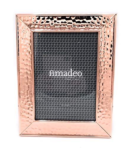 Amadeo Fotolijst, brugs, koperkleurig, 15 x 20 cm, fotolijst, fotolijst, lijst