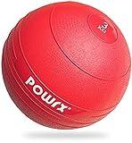 POWRX - Slam Ball Palla Medica 3-20 kg - (15 kg/Nero)