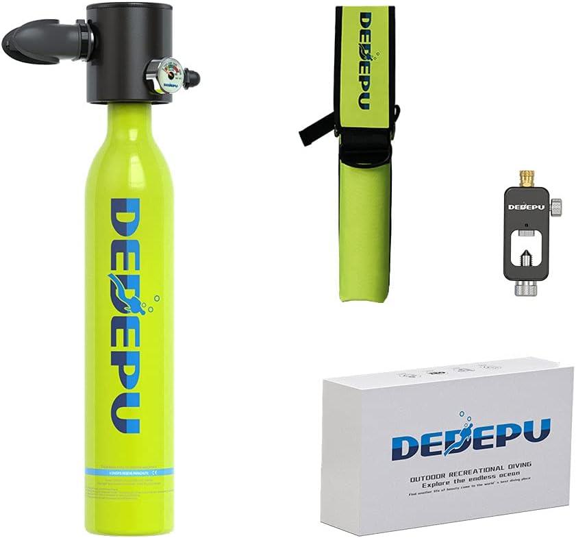 DEDEPU Diving Tank Scuba Pump 70% Max 84% OFF OFF Outlet with Mini Underwat
