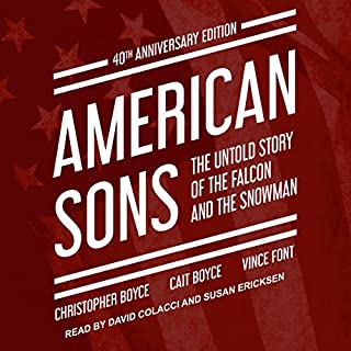 American Sons: 40th Anniversary Edition audiobook cover art
