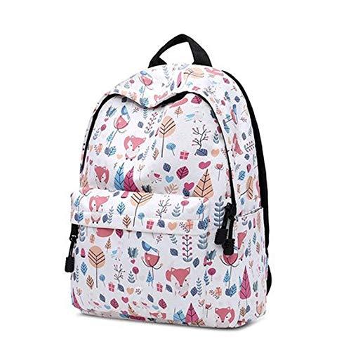 XWX Backpack Female New Cute High School Backpack Student Schoolbag Harajuku Tide