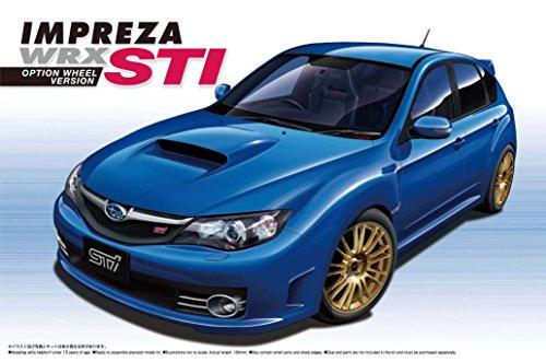青島文化教材社 1/24 ザ・ベストカーGTシリーズ No.32 スバル インプレッサWRX STI 5ドア2007 OP プラモデル