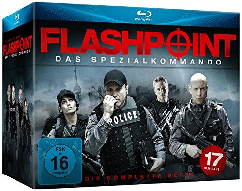 Flashpoint - Das Spezialkommando - Die komplette Serie [Blu-ray] (exklusiv bei Amazon.de)