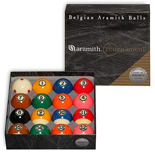 "Aramith Tournament Pro-Cup TV Billiard Pool Ball Set 2 1/4"""