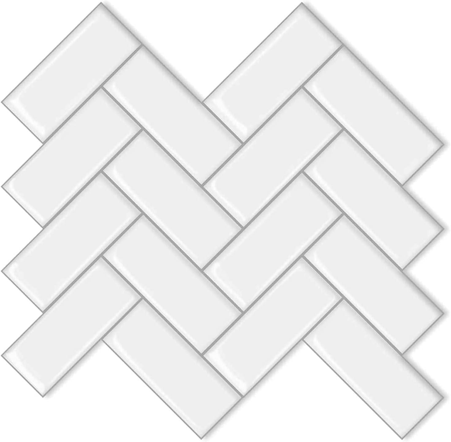 10-Sheet Peel and Stick Tile Bombing free shipping Backsplash Waterproof Spasm price - Fireproof