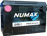 Numax Premium 78-630 Batterie Voitures, 12V 74Ah 680 Amps (En)