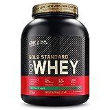 Optimum Nutrition Gold Standard 100% Whey Protéine en Poudre avec Whey Isolate, Proteines Musculation Prise de Masse, Chocolat...