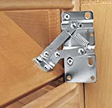 Kitchen Inventions Tip-Out Tray Hinges Under Sink Cabinet Organizer for False Front Drawer