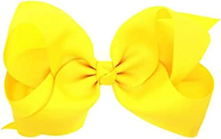 large yellow bow