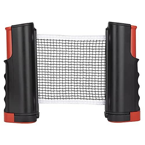 Red de Tenis de Mesa Retráctil Red de Ping Pong Portátil para Mesa de Ping Pong Mesa de Comedor Escritorio de Oficina