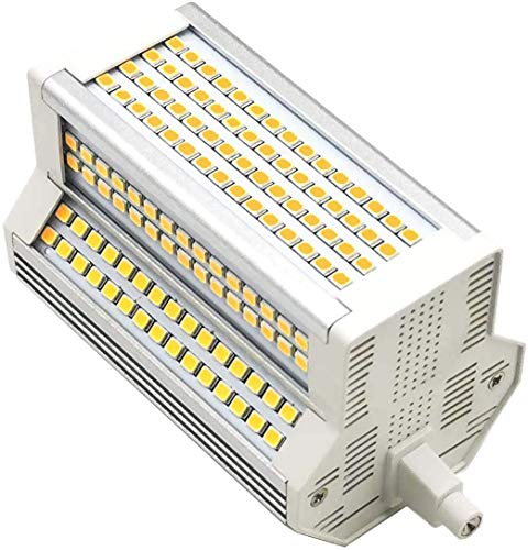 Bombilla LED R7S 118 mm 50W 6000k Mmdimmable Doble J118 J Tipo...