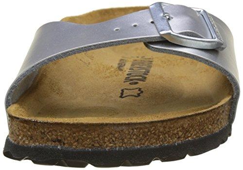 Birkenstock Madrid Mules/Clogs Women Silver Mules Shoes