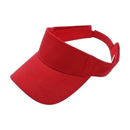 Top Level Sun Sports Visor Men Women - 100% Cotton Cap Hat 9baca4d6d6a