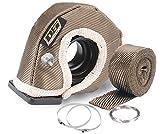 Design Engineering 010141 T3 Titanium Turbo Shield Kit - Custom Fit Turbo Blanket, 19' x 2.5'