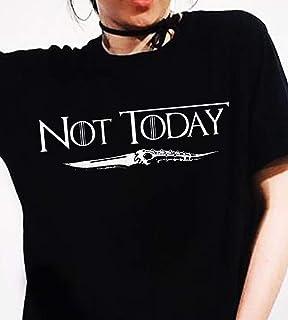 060b70d7 GOT Game Not today T-shirt, Arya stark not today shirt, Customized Handmade