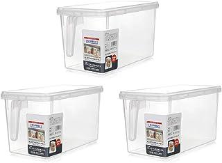 WWJHH-Food storage box BoîTe De Rangement De Cuisine RéCipient De Nourriture RéFrigéRateur à PoignéE Transparente en Plast...