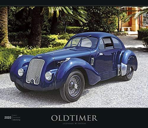 Oldtimer 2020 - Bildkalender (33,5 x 29) - Autokalender - Technikkalender - mit Informationen zu den abgebildeten Fahrzeugen - Wandkalender: by Reinhard Lintelmann